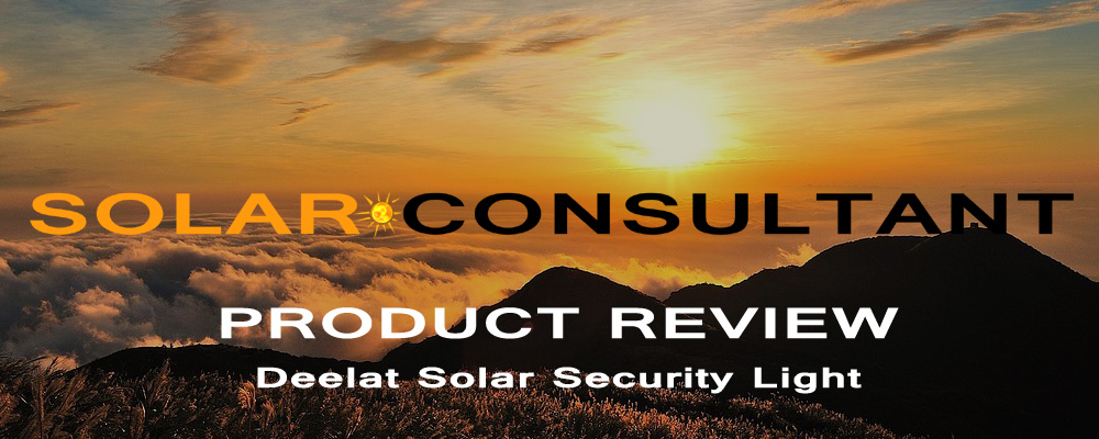 Product review deelat solar security light with remote control product review deelat solar security light with remote control mozeypictures Choice Image