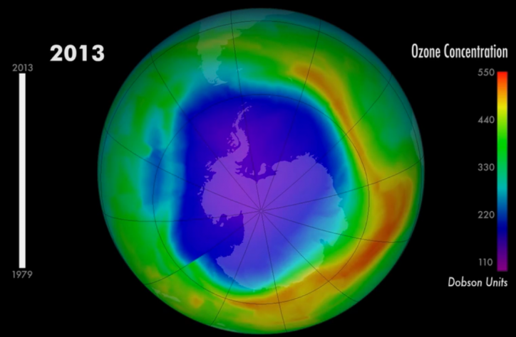 Ozone Layer Deplection 2013