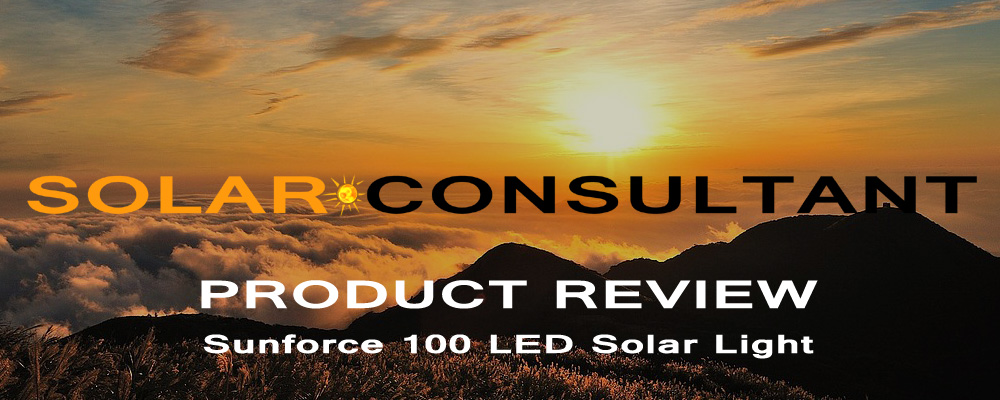 Suncorce 100 LED Outdoor Solar Motion Light Review