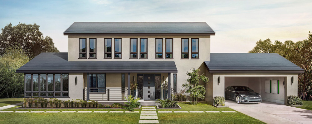 Tesla Solar Roof Single